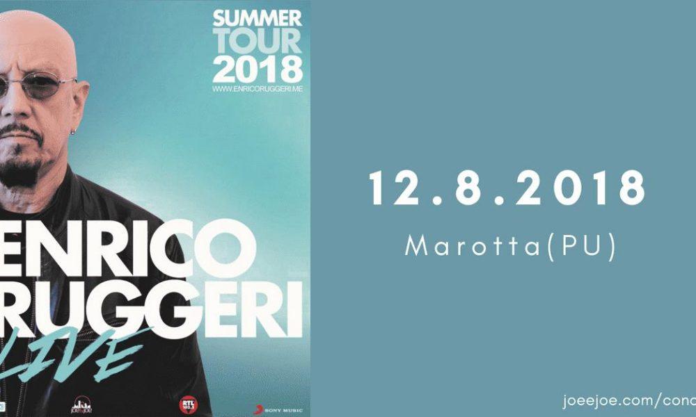 Indicazioni concerto del 12 Agosto di Enrico Ruggeri