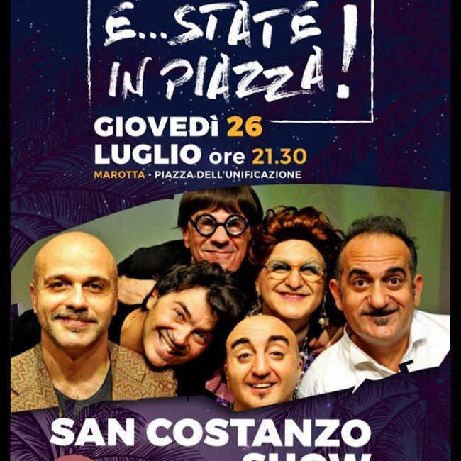 E..state in piazza – San Costanzo Show